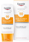 EUCERIN Sun Allergie Protect Cream Gel 50+ 150 ml